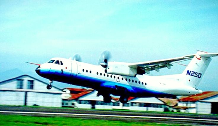 The plane N-250 gatot kaca was create by Prof B.J. Habibie from INDONESIA. The best plane ever for commercial and archipelago nations