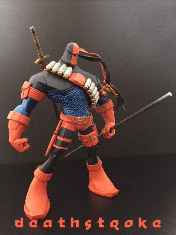 Deathstroke (DC Universe) Custom Action Figure by caballo Base figure: Commando Spawn
