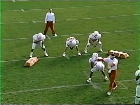 Texas Longhorns Linebacker Football Drills for coaches