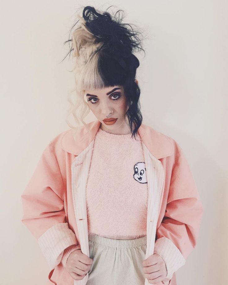 Melanie Martinez Outfit: Lazy Oaf X Casper Fluffy Jumper - http://ninjacosmico.com/8-melanie-martinez-outfits/