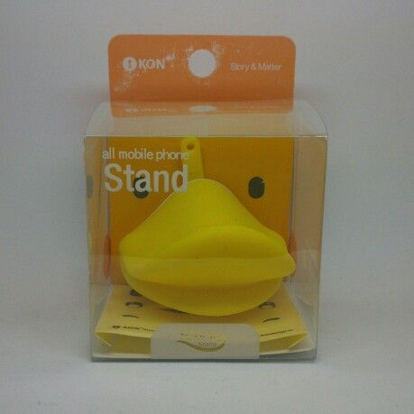 Convierte tu iPhone en un pato con este soporte / Turn your iPhone into a duck with this support
