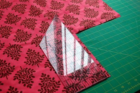 Homemade crib sheets - bet this pattern could easily be converted to regular bed sheets.