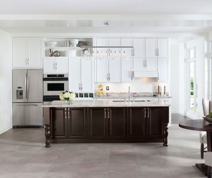 Kitchen Cabinets Island Shelves Cabinetry White Walnut: 35 Best Modern Kitchen Inspiration Images On Pinterest