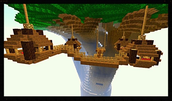 An amazng minecraft tree house just fantastic - Minecraft projekte ...