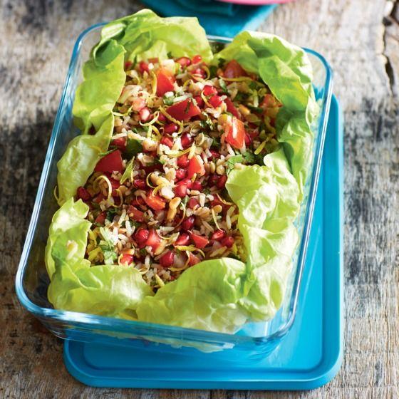 Het recept van de dag is: Libanese rijst-linzensalade!