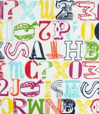 Provenzal Estampado Letras