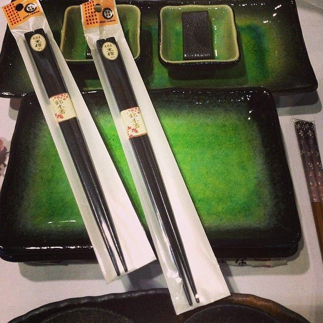 Set sushi verde www.artigianatogiapponese.it