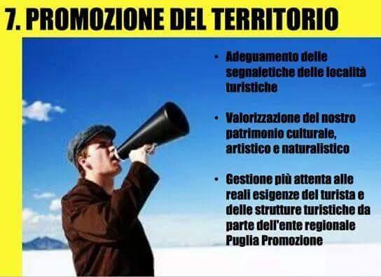 7.Programma Regionale,M5S Puglia 2015.