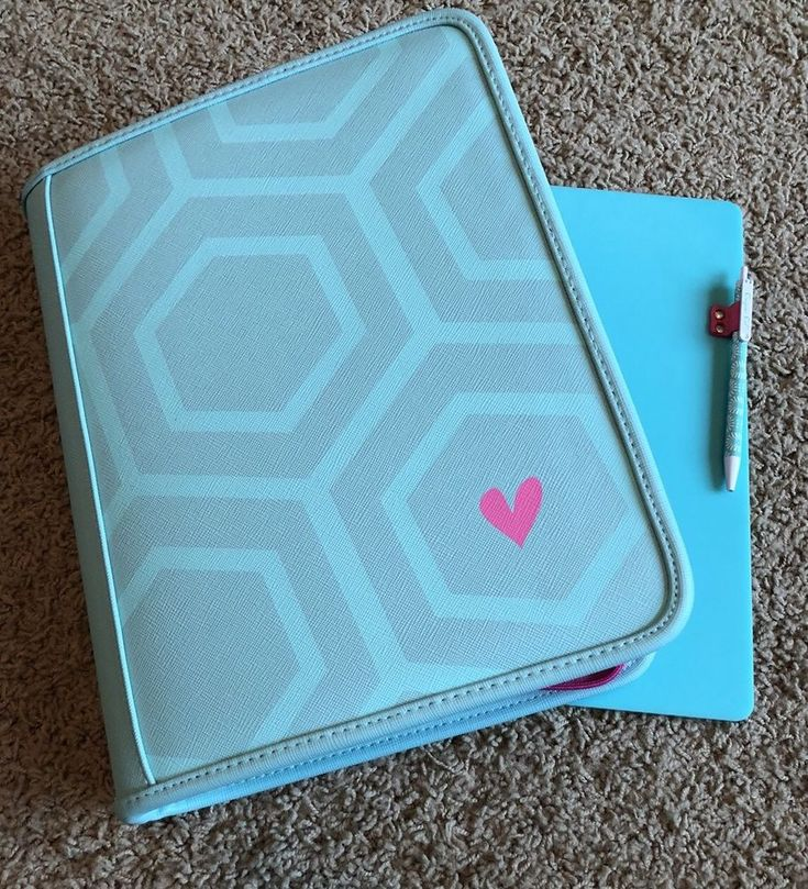 Origami Owl Binder And Lap Board With Pen  | eBay