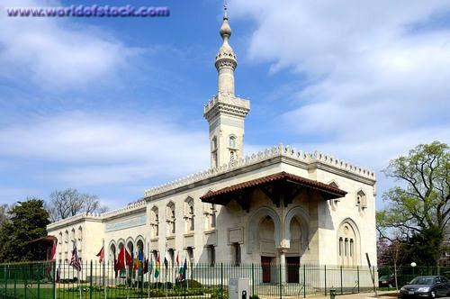 National Mosque, Islamic Center, Washington DC, USA
