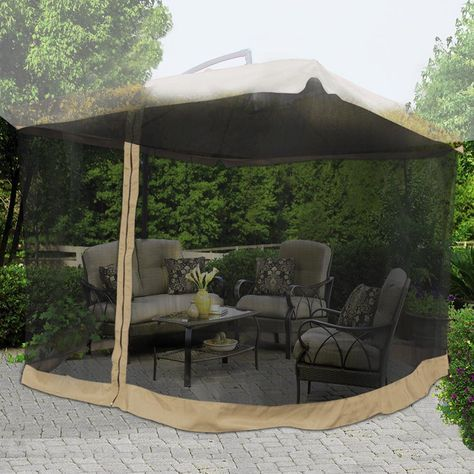 Patio Umbrella Mosquito Net