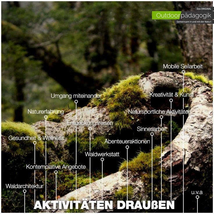 """+++ Na da schau her! +++ Da lässt sich schon einiges """"anstellen"""", wenn man weiß wie es geht ;-)  #love #natur #angebotsfelder #arbeitsbereiche #möglichkeiten #pädagogik #outdoorpädagogik"""