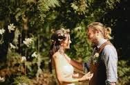 Image result for baby breath, daisy and cornflower wedding flower crown