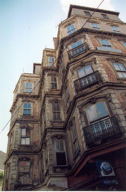 Old buildings in Beyoğlu İstanbul