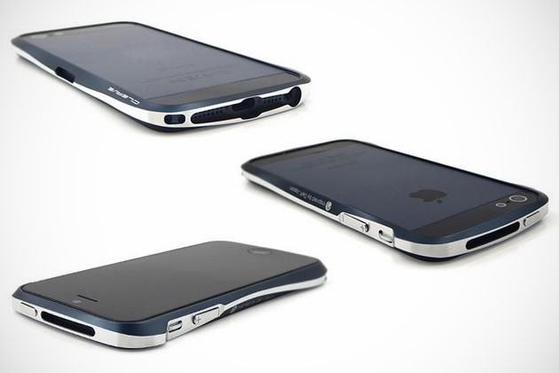 If you absolutely must put a case on it. | Cleave Aluminum Bumper iPhone 5 Case.  #tech #apple #iPhone