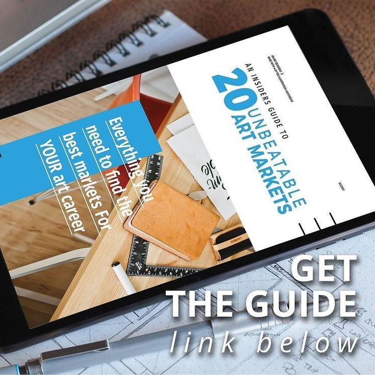 Ever wonder where you fit into the greater art world? Or if there are any other avenues for you to work?  The 20 unbeatable art market guide was created from insider knowledge to educate artists on different opportunities what to expect who to reach out to and how to separate yourself from the crowd. Found out more athttp://ift.tt/2qKWuQu…