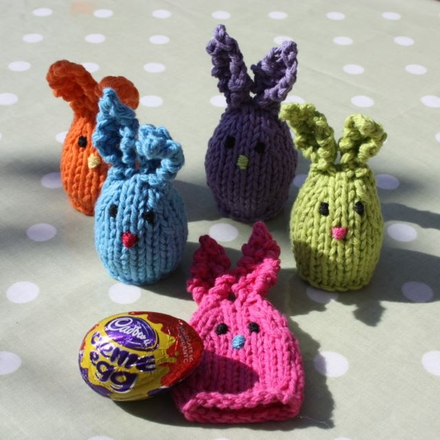 61 best fund raising images on pinterest card crafts christmas huggie bunnies knit with 10 yards or less great for easter eggs negle Gallery