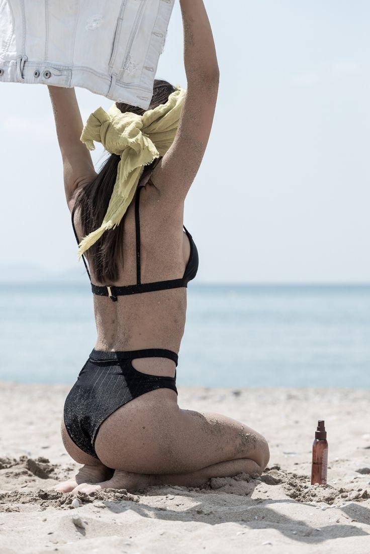 Bikini , total black , ss15 , bynadiarapti