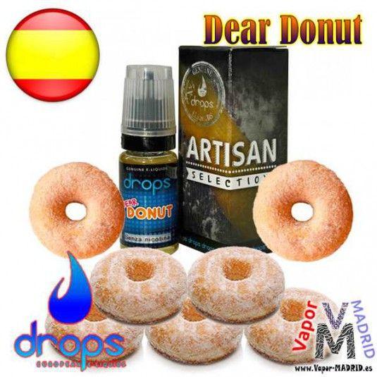 ¡¡¡Que cosa más rica!!! Dear Donut de la marca Drops tiene un sabor inconfundible al mejor donut con su masa esponjosa y cobertura de azúcar, un favorito para los amantes de sabores dulces y por supuesto si te gustan los donuts recién hechos.    http://vapor-madrid.es/tienda/liquidos-drops/1695-dear-donut-10ml-de-drops.html  #vape #vapeo #vapear #eCigs #cigarrilloelectronico #cigarrilloselectronicos #vapeando #vapor #vapecommunity #instavape #vaping #vapelyfe #vapesociety #worldwidevapors…