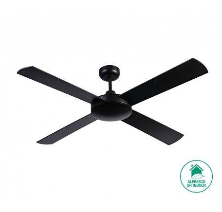Futura 132cm Fan Only in Black