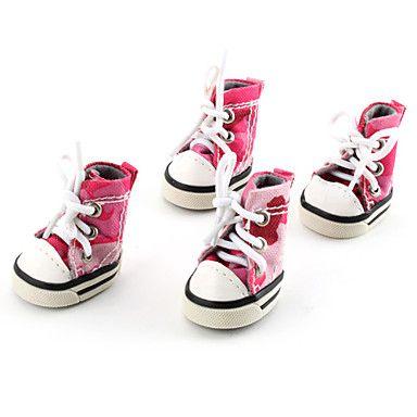 Perros Zapatos y Botas Cowboy / Moda Primavera/Otoño camuflaje Rosado Cuero PU 331452 2016 – €7.83