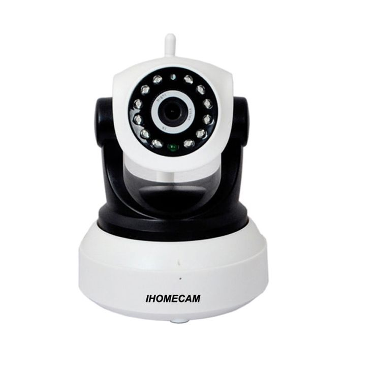 Camera Wifi Wireless IP Infrared Night Vision Camera ICAM-608 HD 720P IHOMECAM #HDIPCamera
