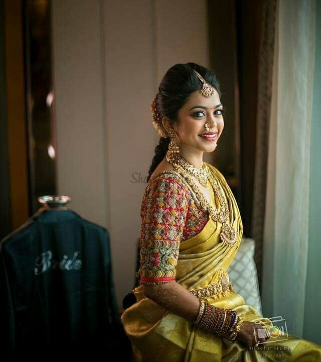 South Indian Jewellery Designs For Brides To Look Drop: 490 Best South Indian Brides Images On Pinterest