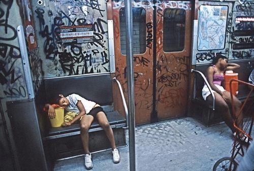 subway, 1980s.