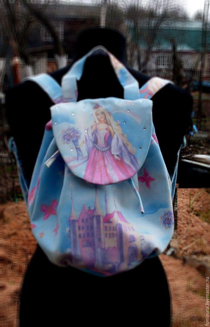 """Купить сумка-рюкзак для """"Маленькой принцессы"""" - комбинированный, сумка, сувениры и подарки, сумка-рюкзак"""
