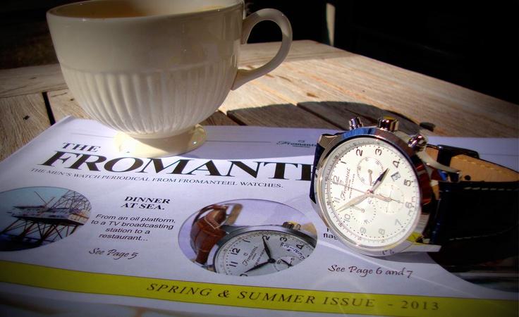 A chrono man