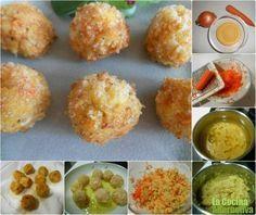 Receta de croquetas de mijo con zanahoria - La Cocina Alternativa