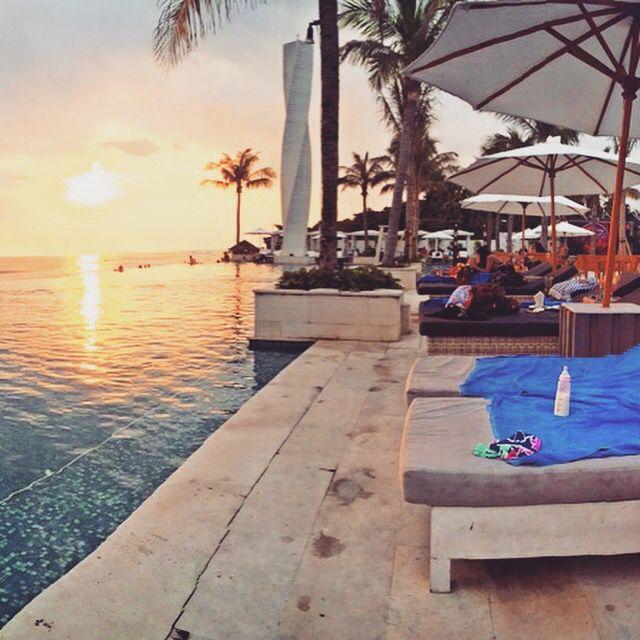 VU beach club, Bali.