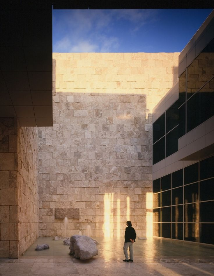 AD Classics: Getty Center / Richard Meier & Partners Architects 96SF20.237 – ArchDaily
