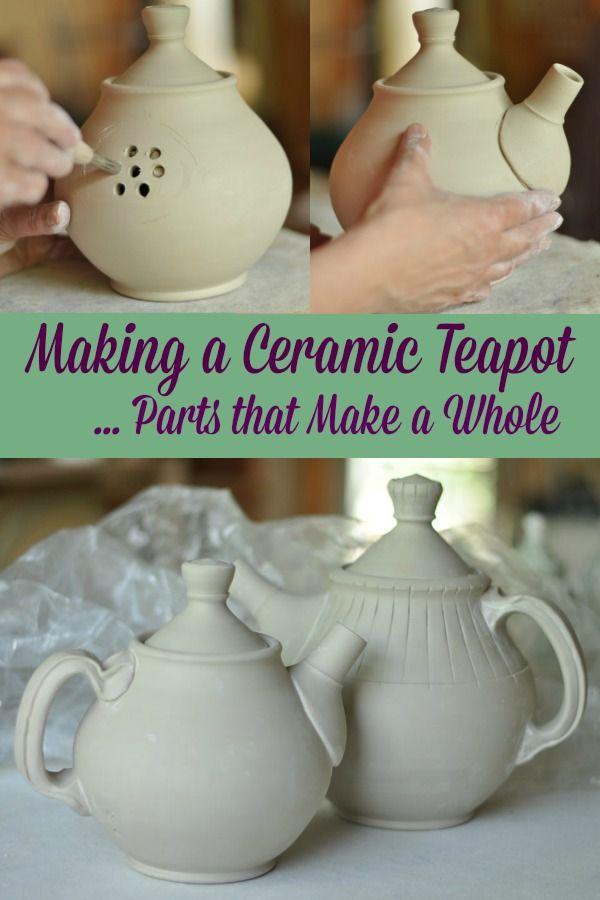 Making a Ceramic Teapot