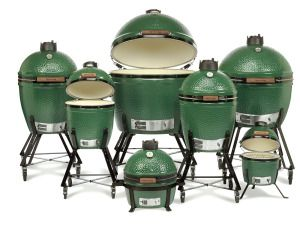 Big Green Egg $399-$3,999 *depending on size  --  family-eggs-in-nest-1000 This is the ultimate gift for the grilling man or woman! Great for baking, grilling or smoking. You can do just about anything with the Big Green Egg. Take the Mini Max size with you camping or tailgating and keep a large version at home for all your cooking needs.