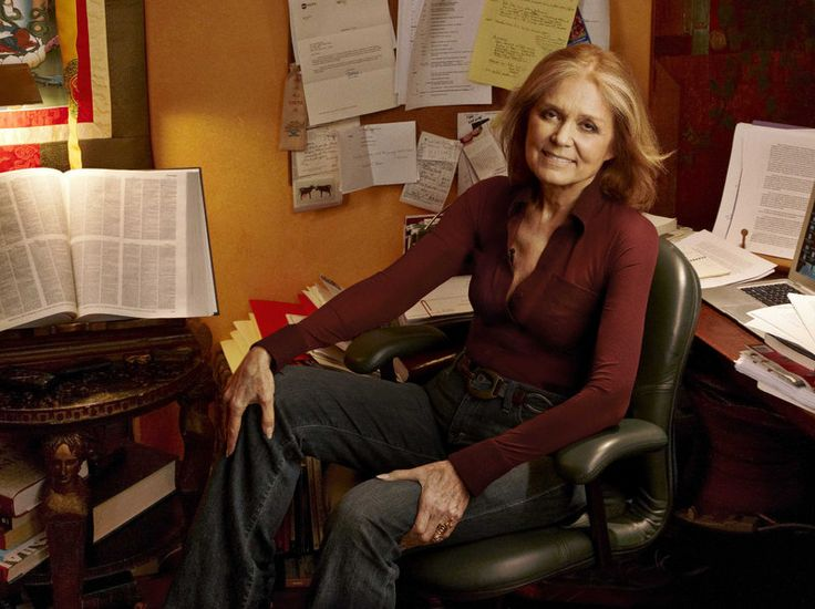 Gloria Steinem co-founded Ms. magazine in 1972 and remained one of its editors for 15 years.