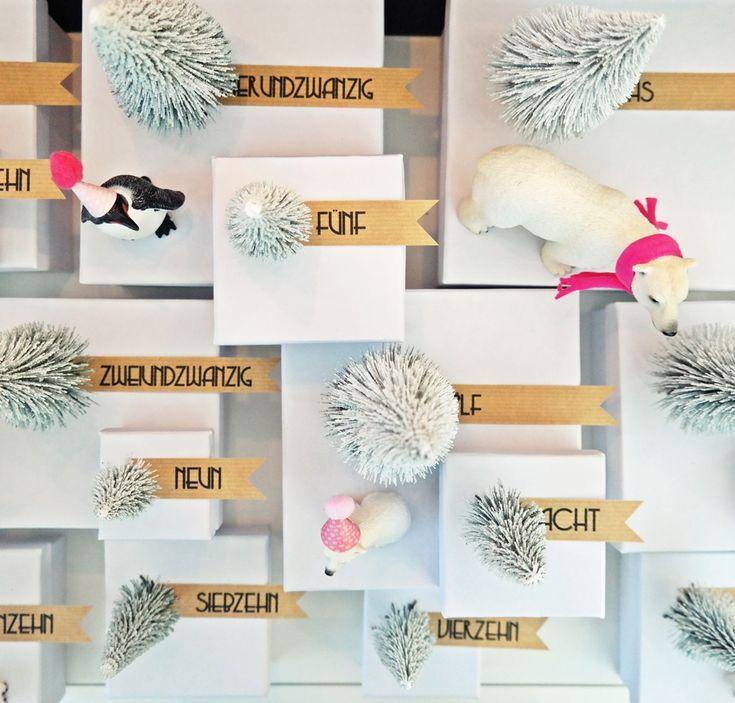 367 besten advent calendar adventskalender bilder auf - Kleinen briefumschlag basteln ...
