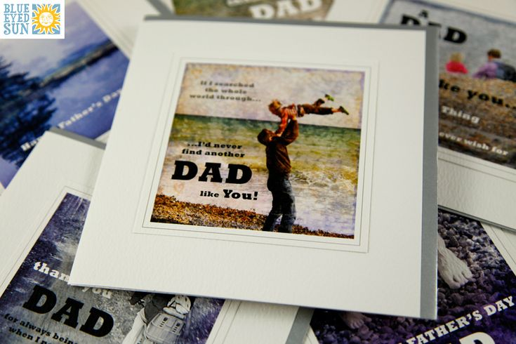 Moments Father's Day Cards by Blue Eyed Sun