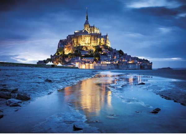 Clementoni - pz 1500 Mont St-Michel - Castello   Jeux et Jouets