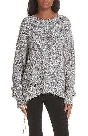 Buy Helmut Lang Distressed Sweater online  66dccc491
