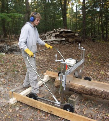 Portable Sawmill Elite with Drip Kit and Convenience Package
