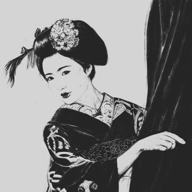 Geisha study/practice from photo reference