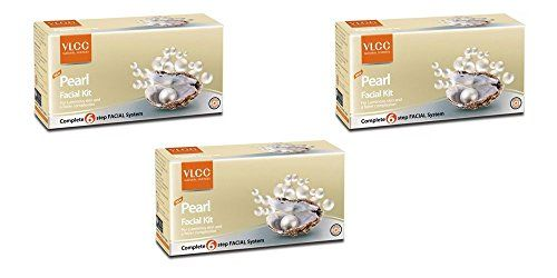 3 x VLCC Pearl Facial Kit  For Luminous Skin  A Fairer Complexion Pack of 3 >>> Click image to review more details.