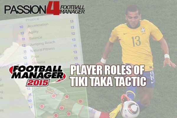 An valuable guide to the Football Manager player roles of Tiki Taka Tactics. Discover the key attributes to utilize Passion4FM tiki taka possession tactic