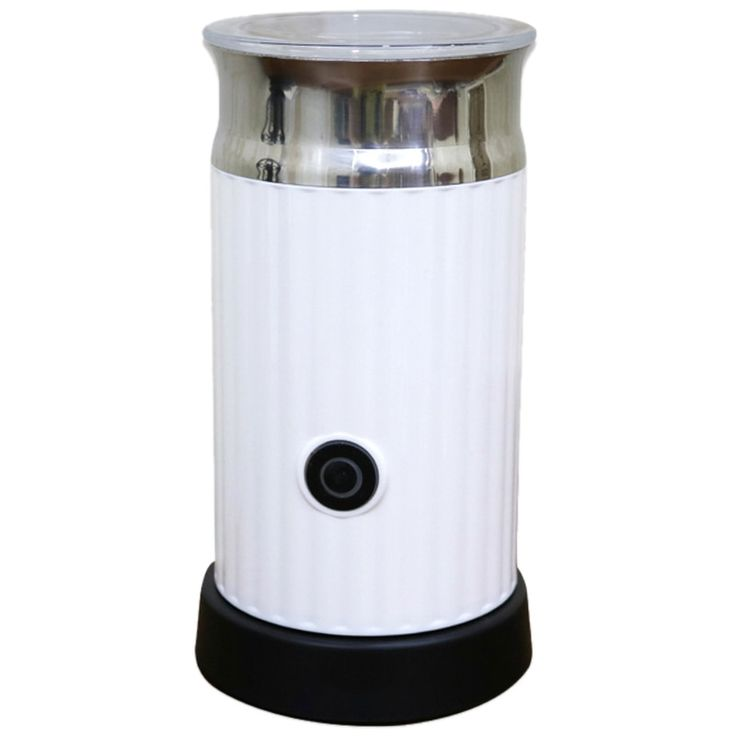 SANQ Automatic Milk Frother With Stainless Steel Container For Soft Foam Cappuccino Electric ...