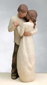 Willow tree figurine! Would love this for a cake topper