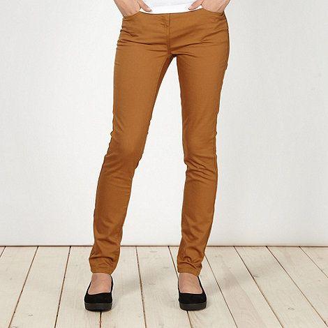 Tan super skinny jeans #DIY #FASHION