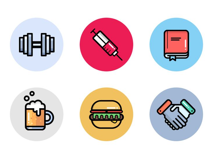 Company Benefit Icons