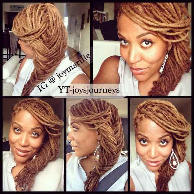 hair styles for blacks 21 awesome ways to style your box braids and locs 4098 | af11a4098b9b9702560d5f55e99a324a dreadlock styles dreadlock hairstyles