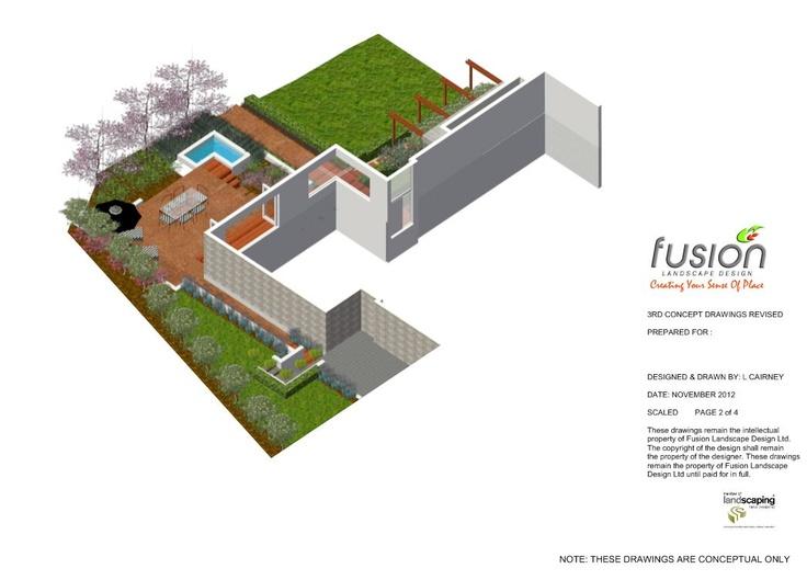 Designed by Fusion Landscape Design